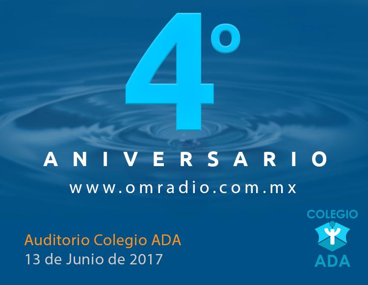 Cuarto Aniversario OM Radio