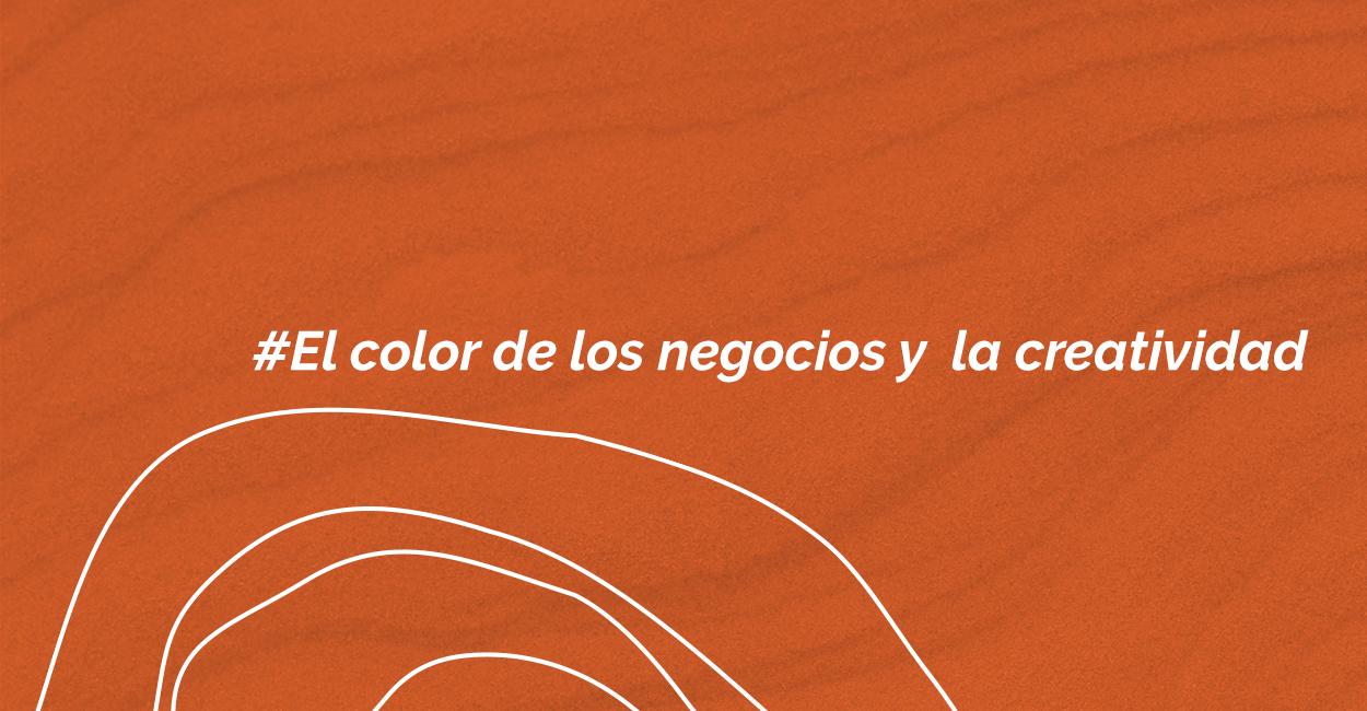 El color de los negocios y la creatividad